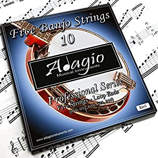Adagio Professional 5-String Banjo Strings Set