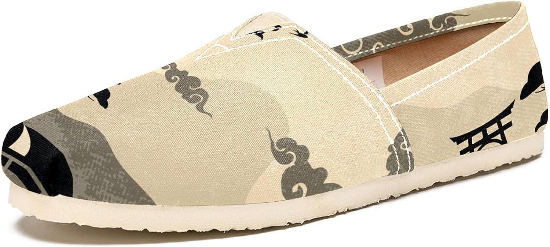 Women's Fashion Tribe Art 5 ☆ popular Fresno Mall Sneaker Canvas Vi Shoes Slip-On Travel