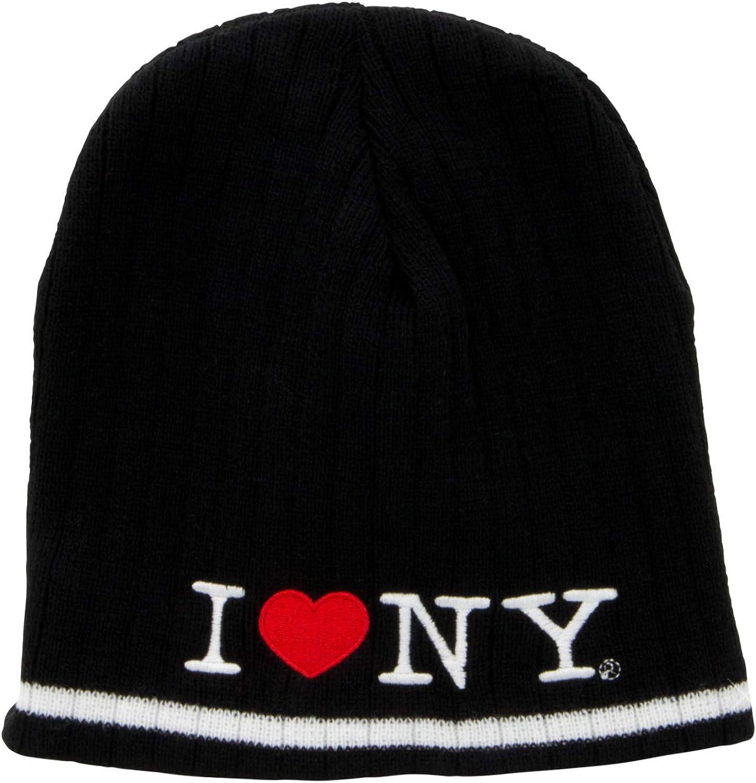 I Love NY Hat (Adult) Skull Cap Beanie New York City Embroidered Winter I Love NY Cap
