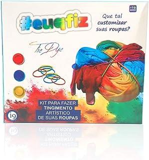 Tie Dye Kit sem camiseta, euqfiz, i9 Brinquedos