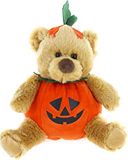 Plushland Stuffed Halloween Costume Bear – Stuffed Animal Bear – 9 Inches.