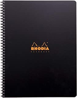 Rhodia Active Notebook, A4+, Lined - Black