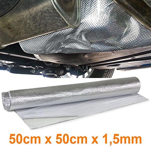 Carparts-Online 29925 Auspuff Thermo Hitzeschutz Matte Alu Keramik selbstklebend