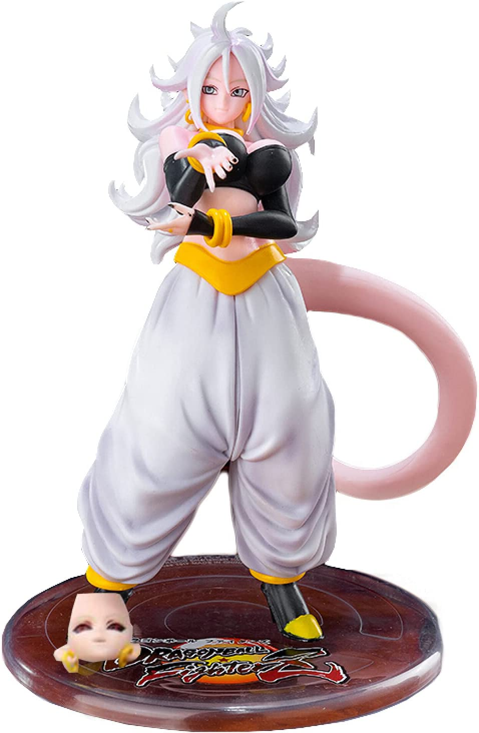 23Cm Dragon Ball Z Mh Gols Android 21 Action Anime Buu High material Majin New mail order PVC