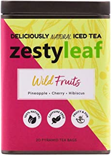 Zestyleaf Wild Fruits Tea - Caffeine Free Herbal Infusion