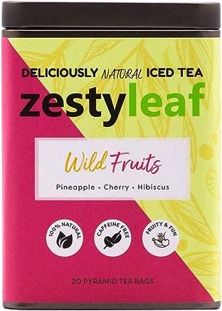 Zestyleaf Wild Fruits Tea - Caffeine Free Herbal Infusion