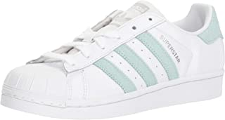 adidas Originals Unisex-Child Girls - Superstar Foundation El C White Size: