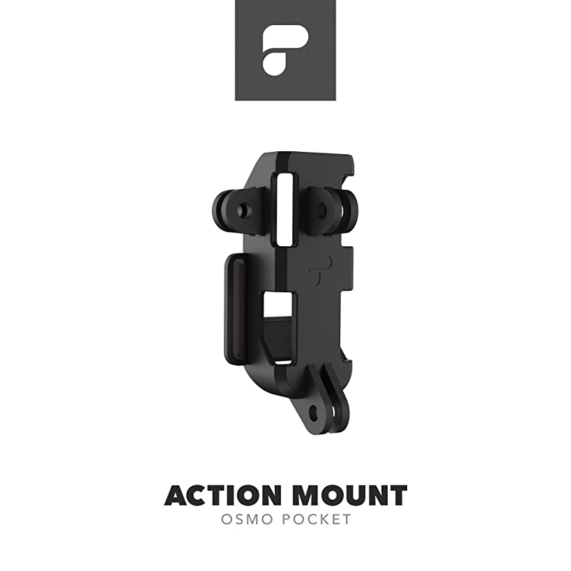 PolarPro Action Mount for DJI Osmo Pocket (Connect to Any GoPro Mount)