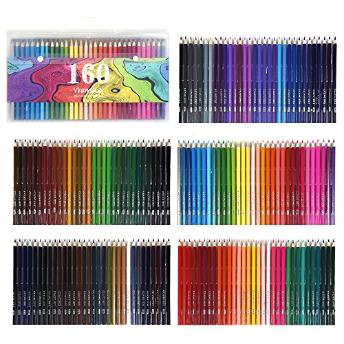 Pack de 168 Lapices de colores WANSHUI