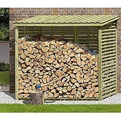 das richtige kaminholzregal f r dein brennholz. Black Bedroom Furniture Sets. Home Design Ideas