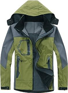 BOIYI Chaqueta de Esquí para Mujer al Aire Libre Resistente al Agua a Prueba de Viento Paño Grueso y Suave Dentro de la Ca...