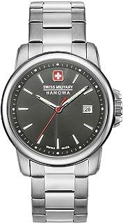 Swiss Military Hanowa - Reloj Analógico para Unisex Adultos de Cuarzo con Correa en Acero Inoxidable 06-5230.7.04.009