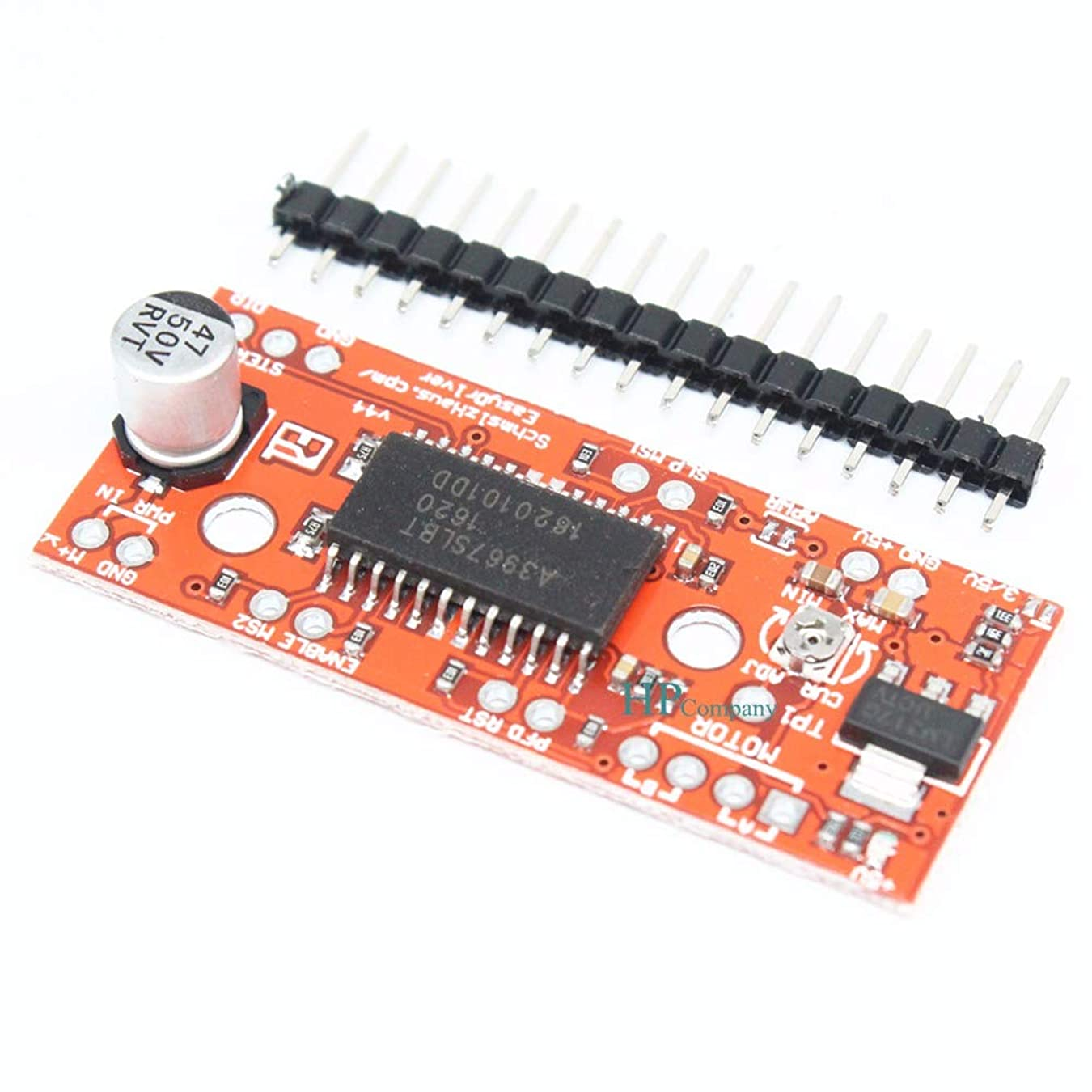 煙突ペレグリネーション家具WillBest 10PCS A3967 EasyDriver Shield stepping Stepper Motor Driver V44 For Arduino A3967SLBT