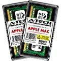 A-Tech 16GB Kit (2x 8GB) DDR3 1600MHz PC3-12800 204-pin SODIMM for Apple MacBook Pro (Mid 2012), iMac (Late 2012, Early/Late 2013, Late 2014 5K, Mid 2015 5K), Mac mini (Late 2012) - Memory RAM Upgrade