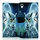 wicostar Wallet Book Style Flip Handy Tasche Hülle Schutz Hülle Schale Motiv Etui für LG L Bello 2 - Flip UMH13 Design6