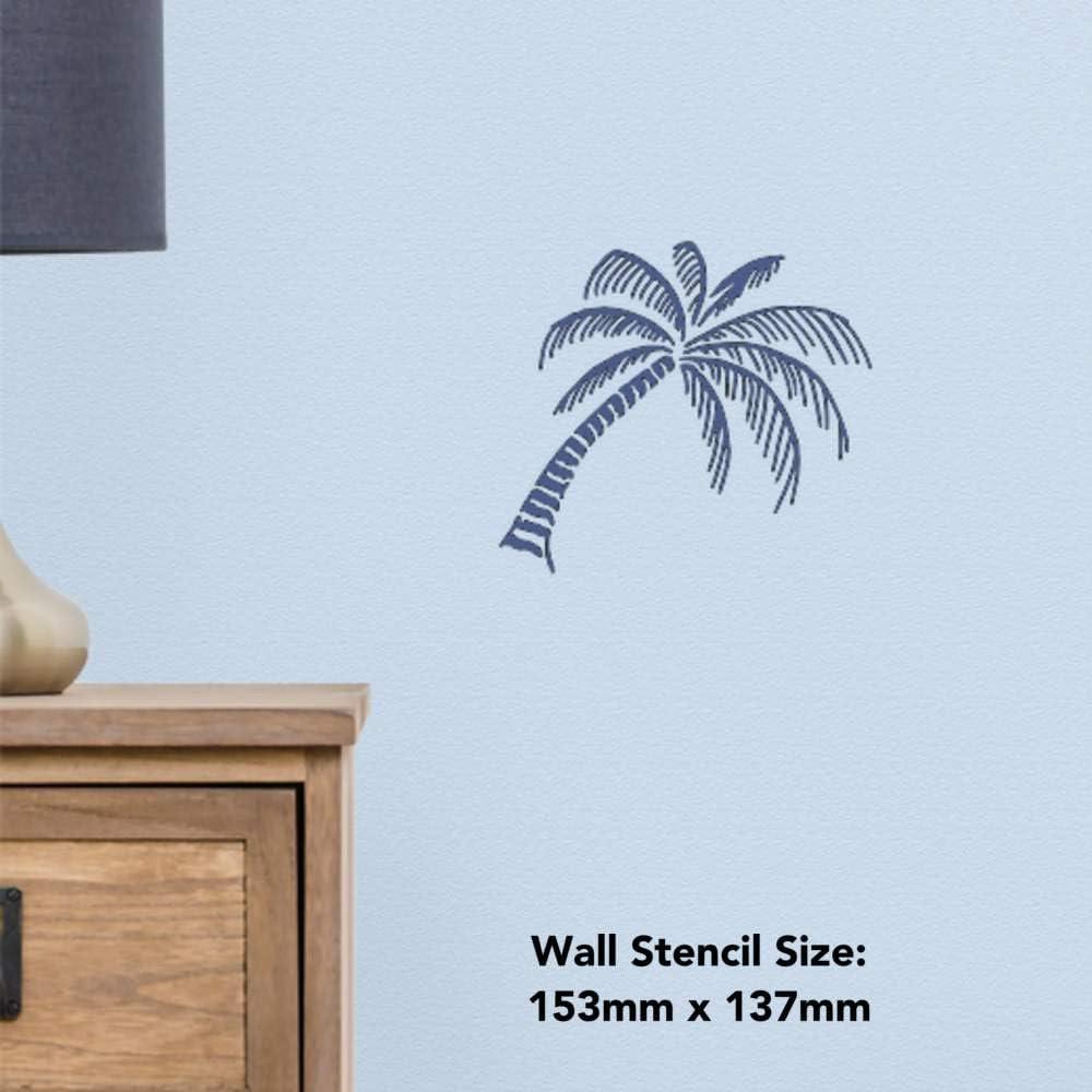 Azeeda A4 Palmier Pochoir Mural WS00026163