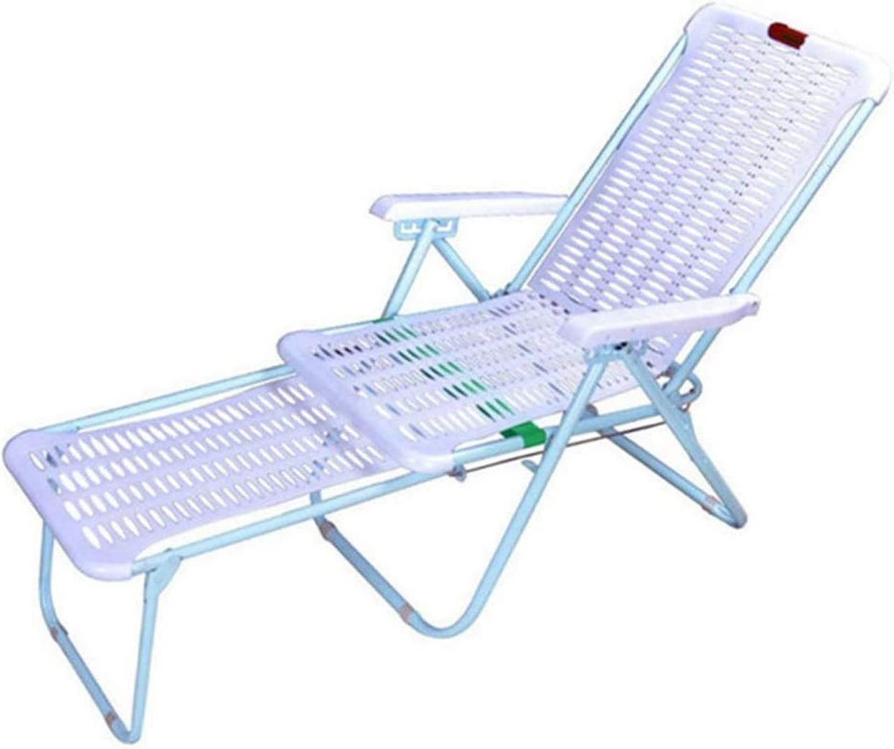 DJDLLZY Sun 40% OFF Cheap Sale Chair Lounger for Folding Camping Plastic Super popular specialty store Recliner