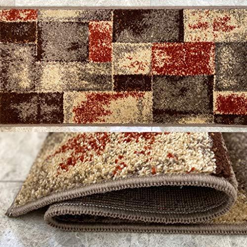 Alfombras De Habitacion Pelo Corto Beige alfombras de habitacion  Marca Aido