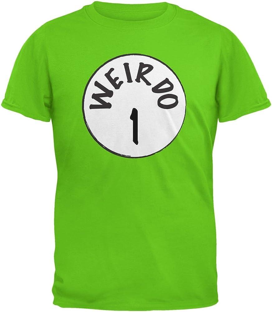 Halloween Weirdo 1 One Electric Green Youth T-Shirt