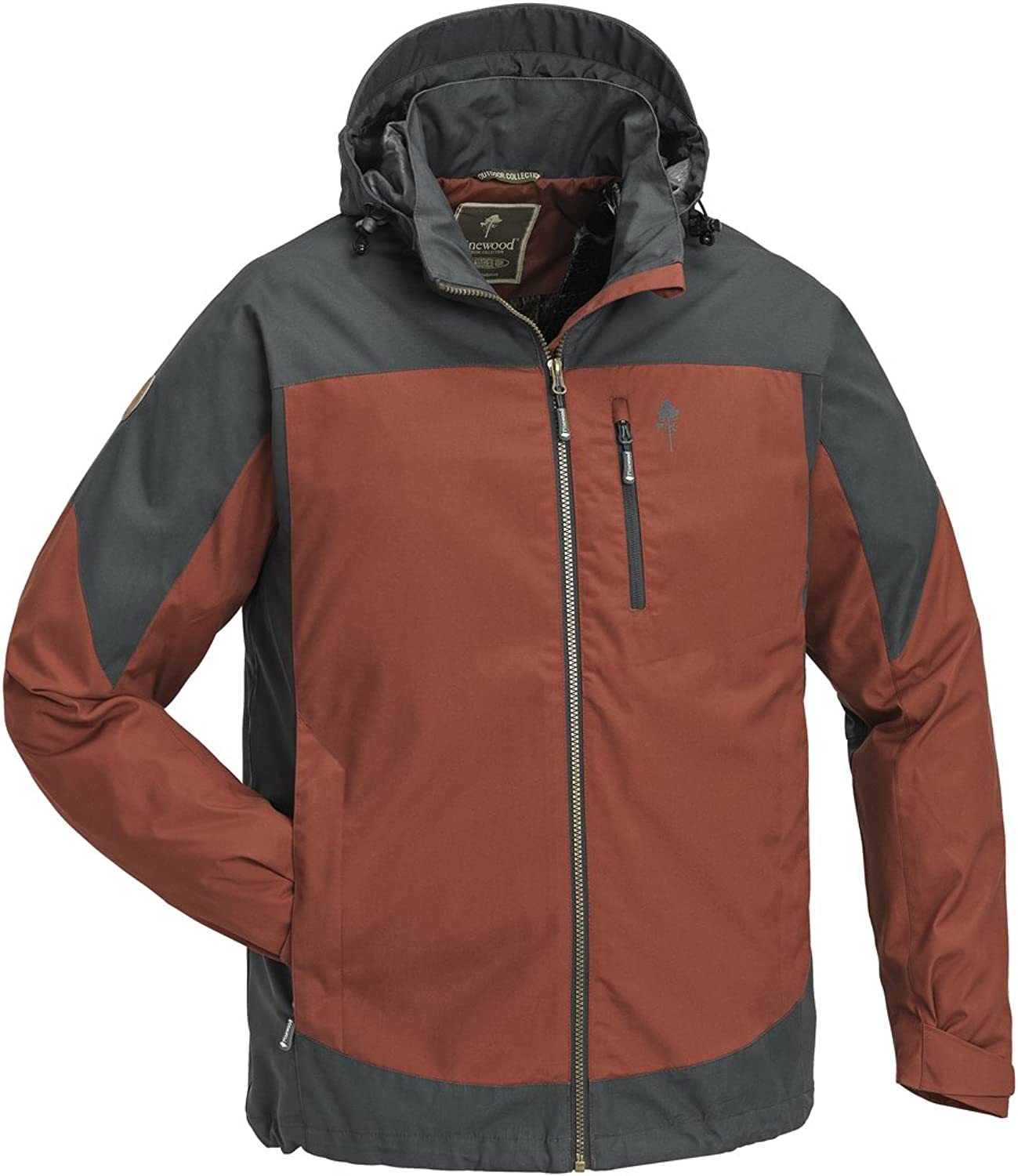 (XLarge, terracotta grey)  Pinewood Men's Caribou TC, Men, Pinewood Caribou TC Jacke
