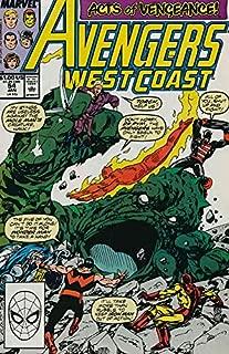 Avengers West Coast #54 VF/NM ; Marvel comic book