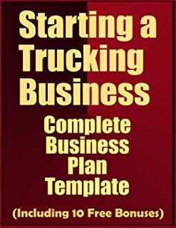 business plan for trucking company sample