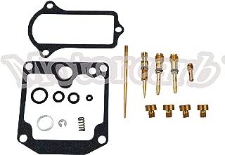 Motorcarb 4 x Carburetor Carb Repair Rebuild Kit 77-78 KZ650 KZ650C KZ650D KZ650B for Kawasaki K&L18-2429V-US Stock