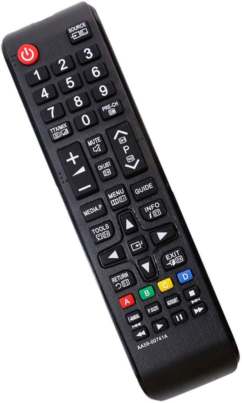Nuevo Samsung AA59-00741A Mando a Distancia de Repuesto, sin Necesidad de programación: Ajuste HDTV LED Plasma LCD LED Smart TV, reemplazo BN59-01175N BN59-01199F AA59-00786A AA59-00602A BN59-01247A: Amazon.es: Electrónica