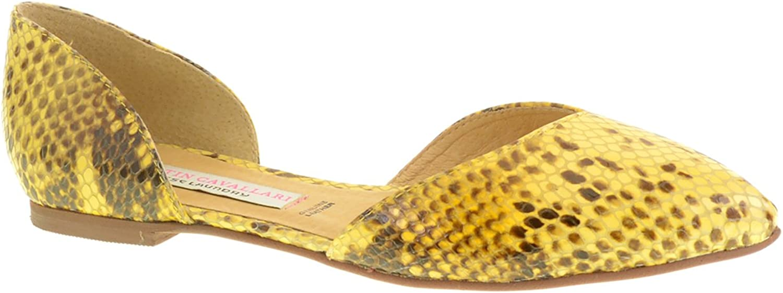 Kristin Cavallari shoes Kristin Cavallari Cadence Python Flat Two-Piece Ballet Flat