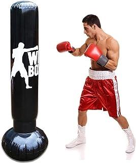 para Entrenamiento Muay Thai MMA Kickboxing Golpes Karate Judo Taekwondo Starpro Boxeo Disparo Cabeza Saco Lleno Conjunto Profesional Alta Resistencia con Cadena