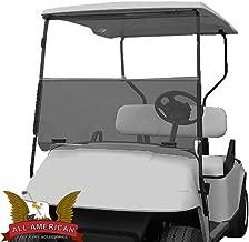 TINTED Folding Windshield for EZGO Marathon Golf Cart