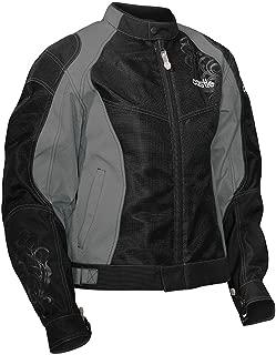 Castle Desire Women's Motorcycle Jacket Gray 2XL