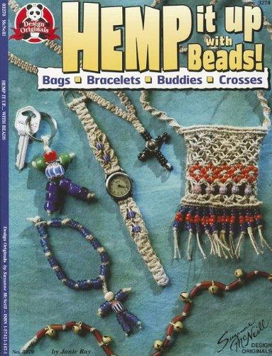 Hemp It Up With Beads!: Bags Bracelets Buddies Crosses (Design Originals)
