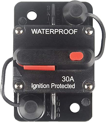 80AMP Circuit Breaker Waterproof 12//36V Fuse Manual Reset Truck Switch Hot