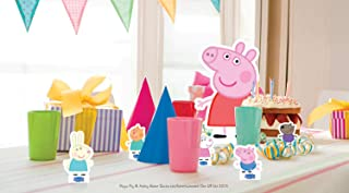 Star Cutouts TT07 Official Peppa Pig and Friends - Adornos para mesa, diseño de cerdito de pimienta, multicolor
