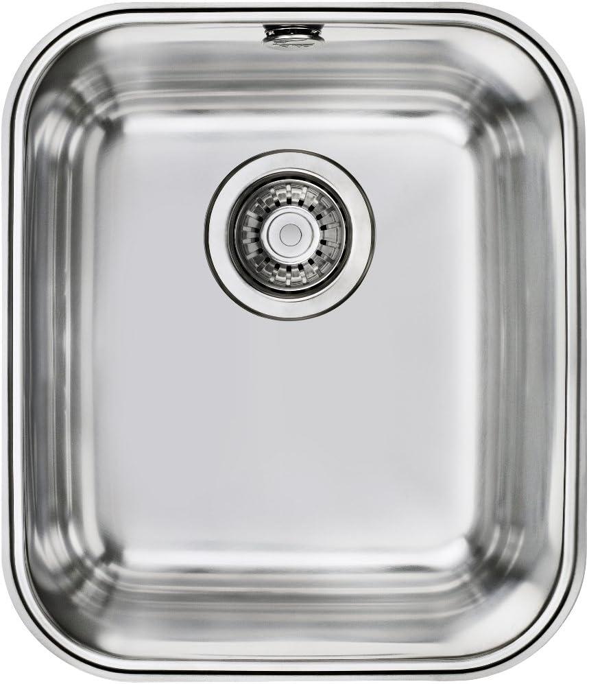 Fregadero Teka Bajo Encimera Be 34.40 Plus Color Inox Ref 10125149 Mueble De 45 Cm