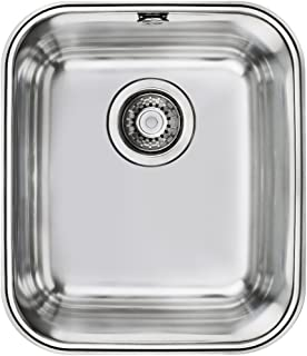 50 x 36 x 22 cm fregadero empotrable con lavabo accesorios de desag/üe Fregadero de acero inoxidable