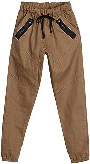 b6602cceb21 Naladoo Men Sweatpants Casual Elastic Joggers Sport Solid Color Pockets  Trousers