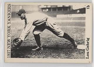 Lou Gehrig (Baseball Card) 1975 TCMA 1927 New York Yankees - [Base] #LOGE