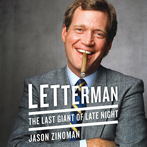 Letterman audiobook cover art