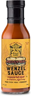Wenzel | #1 Sandwich Hot Sauce Spicy Tangy Delicious Makes For A Legendary Meal, 12oz Bottle