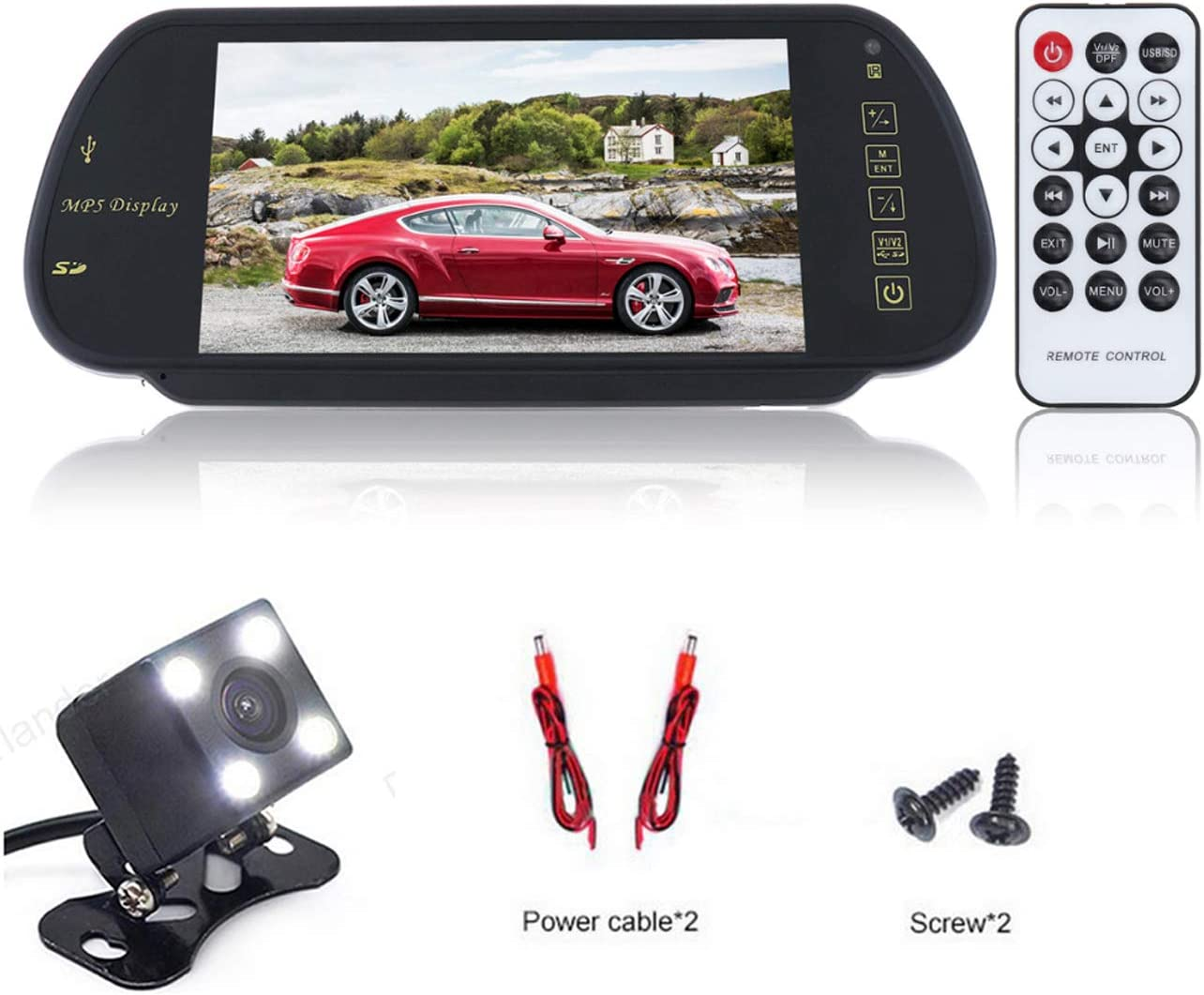 Super beauty product restock quality top! WEPECULIOR Car Parking Assistant System Kit 7 LCD Bargain Color Inch TFT