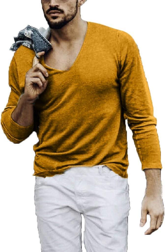 Manga Larga Pura Blusa Hombres Personalidad Moda Tops ...