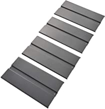 Edsal, RLSD2448, Decking, 20 Ga. Ribbed Steel, 48 in, 24 in