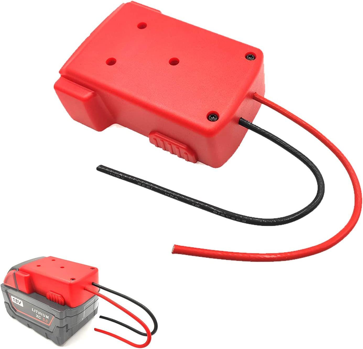 Power Wheel Adapter Max 46% OFF for Milwaukee Wheels M18 Quality inspection Battery18v Ad