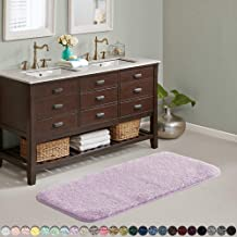 Suchtale Large Bathroom Rug Extra Soft and Absorbent Shaggy Bathroom Mat (24 x 60, Lavender) Machine Washable Microfiber B...