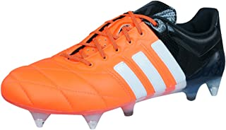adidas Ace 15.1 SG Leather Promo Mens Football Boots/Cleats - Orange Black