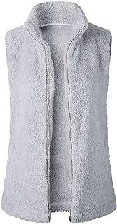 grey scoop waistcoat