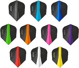 10 Colour Choices V180 Transparent Dart Flights Standard 1//3//5//10 Sets..