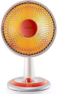 Calefactor Eléctrico DIOE Mini Calentador oscilante de sobremesa con ángulo de inclinación Ajustable, luz Suave, fácil de operar, Descarga Segura, Cubierta de Red Anti-escaldado